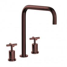 Keukenkraan Lanesto Urban Brooklyn haaks, Copper, 456,90 euro