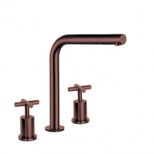 Keukenkraan Lanesto Urban Brooklyn recht, Copper, 456,90 euro